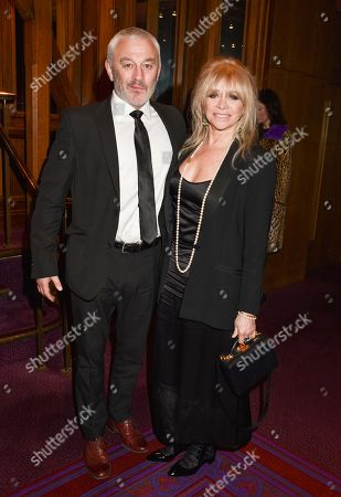 Stock Photo of Carl Douglas and Jo Wood