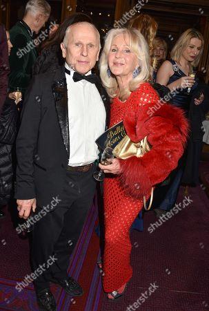 Stock Photo of Liz Brewer and Wayne Sleep
