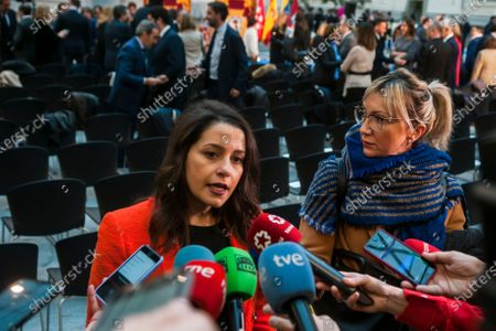 Editorial picture of Venezuelan politician Juan Guaido visit to Madrid - 25 Jan 2020