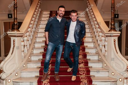 Spanish producer and actor Antonio Banderas and Pablo Puyol present their latest theater production 'A Chorus Line'