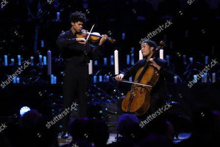 Jewish Life no. 1 by Ernest Bloch performed by Sheku Kannah-Mason and Braimah Kanneh-Mason at the Holocaust Memorial Day Commemorative Ceremony in Westminster.