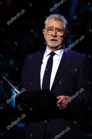 Actor Martin Shaw reads during the Holocaust Memorial Day Commemorative Ceremony in Westminster on January 27, 2020 in London, England. 2020 marks the 75th anniversary of the liberation of Auschwitz-Birkenau. Holocaust memorial day takes place annually on the 27th of January, remembering the liberation of Auschwitz-Birkenau, and honoring survivors of the Holocaust, Nazi Persecution, and subsequent genocides in Bosnia, Cambodia, Rwanda, Darfur.