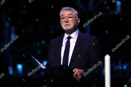 Actor Martin Shaw reads during the UK Holocaust Memorial Day Commemorative Ceremony in Westminster on January 27, 2020 in London, England. 2020 marks the 75th anniversary of the liberation of Auschwitz-Birkenau. Holocaust memorial day takes place annually on the 27th of January, remembering the liberation of Auschwitz-Birkenau, and honoring survivors of the Holocaust, Nazi Persecution, and subsequent genocides in Bosnia, Cambodia, Rwanda, Darfur.