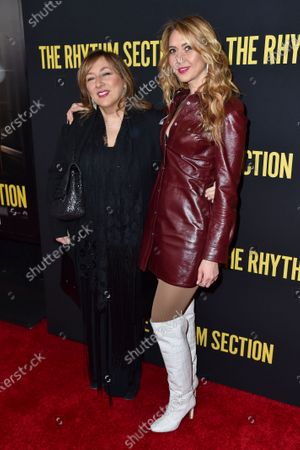 Stock Image of Lorraine Schwartz and Ofira Sandberg