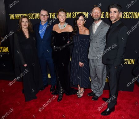 Editorial image of 'The Rhythm Section' film premiere, Arrivals, Brooklyn Academy of Music, New York, USA - 27 Jan 2020