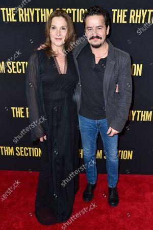 Barbara Broccoli and Max Casella