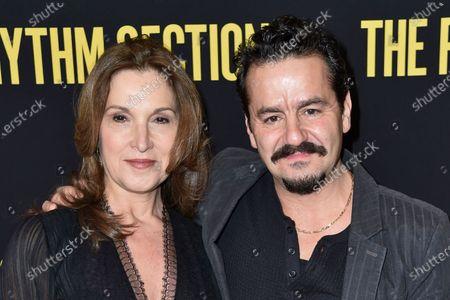 Stock Image of Barbara Broccoli and Max Casella