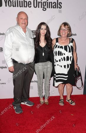 Bruce Dale, Pattie Mallette, and Diane Dale