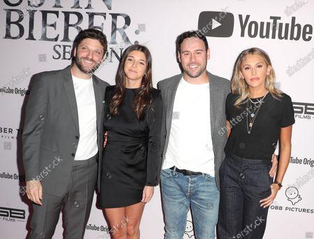 Michael D. Ratner, Lauren Rothberg, Scooter Braun and Yael Cohen