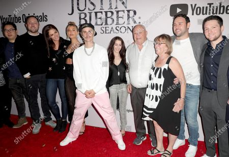 Editorial photo of 'Justin Bieber: Seasons' TV show premiere, Regency Bruin Theatre, Los Angeles, USA - 27 Jan 2020