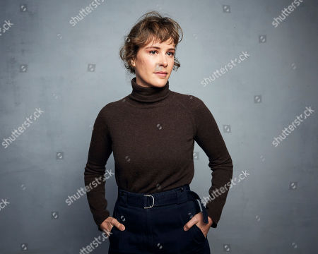 "Stock Photo of Carla Juri poses for a portrait to promote the film ""Amulet"" at the Music Lodge during the Sundance Film Festival, in Park City, Utah"