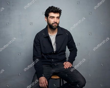 """Stock Picture of Alec Secareanu poses for a portrait to promote the film """"Amulet"""" at the Music Lodge during the Sundance Film Festival, in Park City, Utah"""