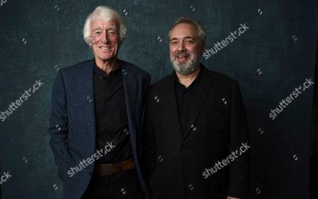 Stock Photo of Roger Deakins, Sam Mendes. Roger Deakins, left, and Sam Mendes pose for a portrait at the 92nd Academy Awards Nominees Luncheon at the Loews Hotel, in Los Angeles