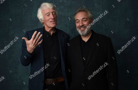 Roger Deakins, Sam Mendes. Roger Deakins, left, and Sam Mendes pose for a portrait at the 92nd Academy Awards Nominees Luncheon at the Loews Hotel, in Los Angeles