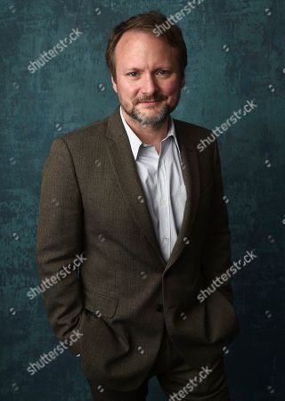 Rian Johnson poses for a portrait at the 92nd Academy Awards Nominees Luncheon at the Loews Hotel, in Los Angeles