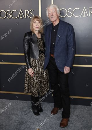 Stock Photo of Cinematographer Roger Deakins (R) and his wife Isabella James Purefoy Ellis arrive for the 92nd Oscars Nominees Luncheon at The Loews Hotel Ray Dolby Ballroom in Hollywood, California, USA, 27 January 2020. The 92nd Academy Awards ceremony will be held on 09 February 2020.
