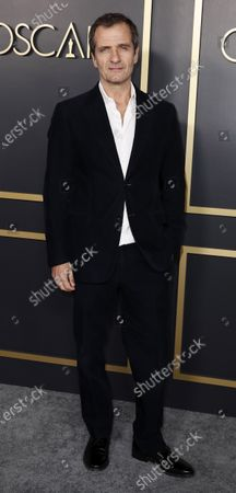 David Heyman arrives for the 92nd Oscars Nominees Luncheon at The Loews Hotel Ray Dolby Ballroom in Hollywood, California, USA, 27 January 2020. The 92nd Academy Awards ceremony will be held on 09 February 2020.