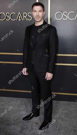 US animator Travis Knight arrives for the 92nd Oscars Nominees Luncheon at The Loews Hotel Ray Dolby Ballroom in Hollywood, California, USA, 27 January 2020. The 92nd Academy Awards ceremony will be held on 09 February 2020.