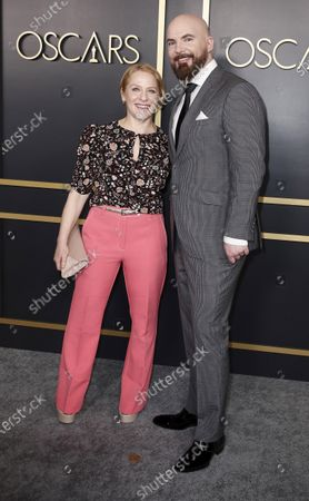 Arianne Sutner (L) and British-American storyboard artist Chris Butler (R)  arrive for the 92nd Oscars Nominees Luncheon at The Loews Hotel Ray Dolby Ballroom in Hollywood, California, USA, 27 January 2020. The 92nd Academy Awards ceremony will be held on 09 February 2020.