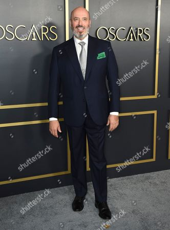 Mark Bridges arrives at the 92nd Academy Awards Nominees Luncheon at the Loews Hotel, in Los Angeles