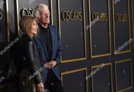 Roger Deakins, Isabella James Purefoy Ellis. Roger Deakins, right, and Isabella James Purefoy Ellis arrive at the 92nd Academy Awards Nominees Luncheon at the Loews Hotel, in Los Angeles