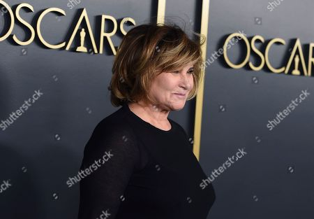 Amy Pascal arrives at the 92nd Academy Awards Nominees Luncheon at the Loews Hotel, in Los Angeles