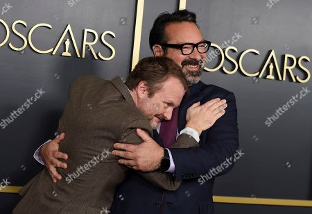 Rian Johnson, James Mangold. Rian Johnson, left, and James Mangold arrive at the 92nd Academy Awards Nominees Luncheon at the Loews Hotel, in Los Angeles