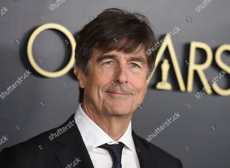 Thomas Newman arrives at the 92nd Academy Awards Nominees Luncheon at the Loews Hotel, in Los Angeles