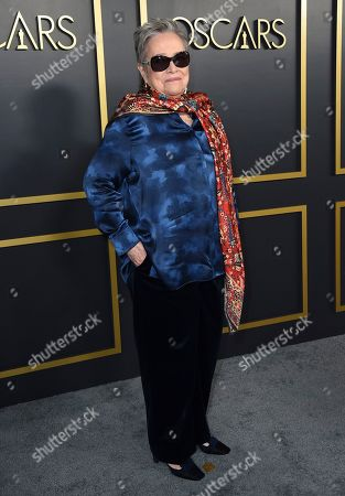 Kathy Bates arrives at the 92nd Academy Awards Nominees Luncheon at the Loews Hotel, in Los Angeles
