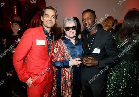 Sami Khan, Kathy Bates, Bruce Franks Jr. Sami Khan, from left, Kathy Bates and Bruce Franks Jr. attend the 92nd Academy Awards Nominees Luncheon at the Loews Hotel, in Los Angeles