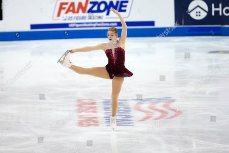 Gracie Gold performs her senior ladies free skate program at the U.S. Figure Skating Championships, in Greensboro, N.C