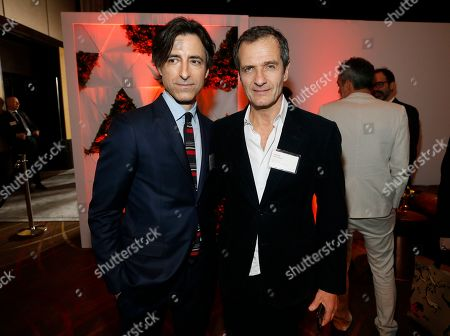 Noah Baumbach, David Heyman. Noah Baumbach, left, and David Heyman attend the 92nd Academy Awards Nominees Luncheon at the Loews Hotel, in Los Angeles