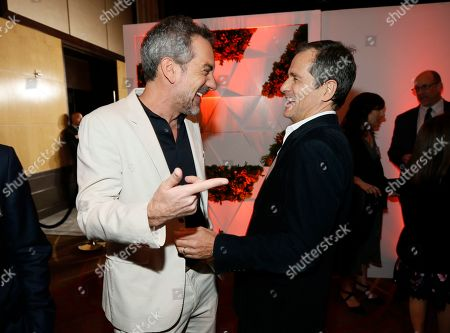 Stock Picture of Todd Phillips, David Heyman. Todd Phillips, left, and David Heyman attend the 92nd Academy Awards Nominees Luncheon at the Loews Hotel, in Los Angeles