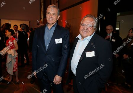 Robert Iger, Jim Gianopulos. Robert Iger, left, and Jim Gianopulos attend the 92nd Academy Awards Nominees Luncheon at the Loews Hotel, in Los Angeles