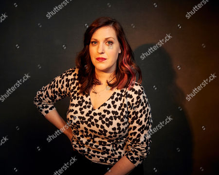 """Stock Photo of Allison Tolman poses for a portrait to promote the film """"The Last Shift"""" at the Music Lodge during the Sundance Film Festival, in Park City, Utah"""