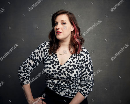 """Allison Tolman poses for a portrait to promote the film """"The Last Shift"""" at the Music Lodge during the Sundance Film Festival, in Park City, Utah"""