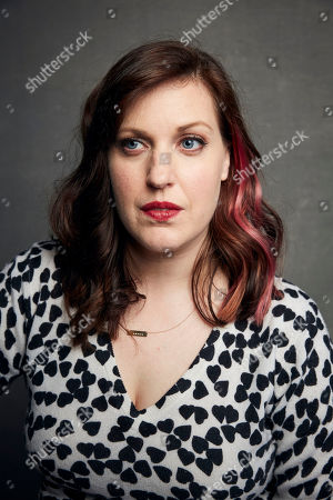 """Stock Image of Allison Tolman poses for a portrait to promote the film """"The Last Shift"""" at the Music Lodge during the Sundance Film Festival, in Park City, Utah"""