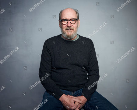 """Stock Image of Richard Jenkins poses for a portrait to promote the film """"The Last Shift"""" at the Music Lodge during the Sundance Film Festival, in Park City, Utah"""