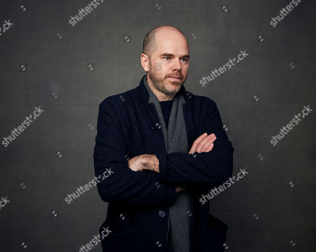 """Stock Photo of Sean Durkin poses for a portrait to promote the film """"The Nest"""" at the Music Lodge during the Sundance Film Festival, in Park City, Utah"""