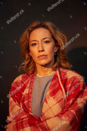 "Stock Image of Carrie Coon poses for a portrait to promote the film ""The Nest"" at the Music Lodge during the Sundance Film Festival, in Park City, Utah"