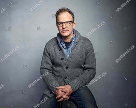 """Tom McCarthy poses for a portrait to promote the film """"Timmy Failure: Mistakes Were Made"""" at the Music Lodge during the Sundance Film Festival, in Park City, Utah"""