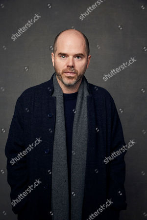 """Stock Image of Sean Durkin poses for a portrait to promote the film """"The Nest"""" at the Music Lodge during the Sundance Film Festival, in Park City, Utah"""