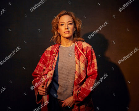 "Carrie Coon poses for a portrait to promote the film ""The Nest"" at the Music Lodge during the Sundance Film Festival, in Park City, Utah"