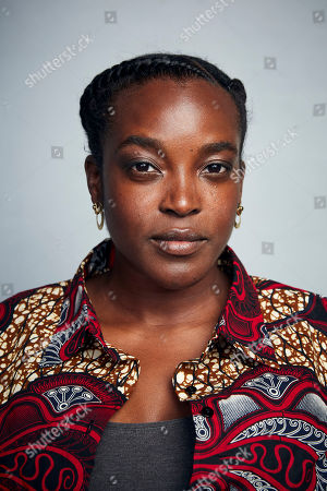 """Wunmi Mosaku poses for a portrait to promote the film """"His House"""" at the Music Lodge during the Sundance Film Festival, in Park City, Utah"""