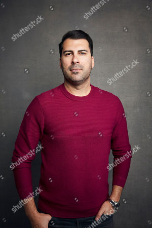 """James Lee Hernandez poses for a portrait to promote the film """"McMillions"""" at the Music Lodge during the Sundance Film Festival, in Park City, Utah"""