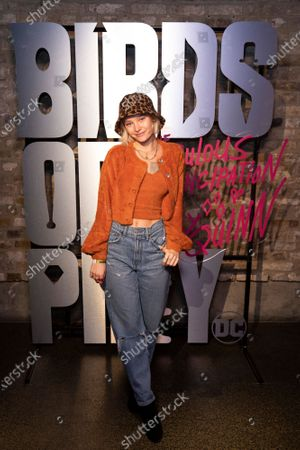 Maddi Waterhouse attends the launch of Harley Quinn's Roller Disco to celebrate the upcoming film. Tickets are still available for the public via Event Brite. Birds of Prey (and The Fantabulous Emancipation of One Harley Quinn) in cinemas February 7th.
