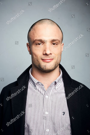 "Stock Photo of Cosmo Jarvis poses for a portrait to promote the film ""The Evening Hour"" at the Music Lodge during the Sundance Film Festival, in Park City, Utah"