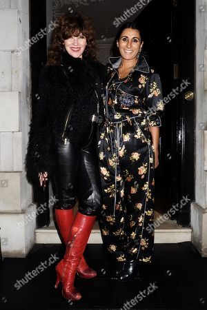Editorial picture of Country & Town House Great British Bands party, Arrivals, London, UK - 27 Jan 2020