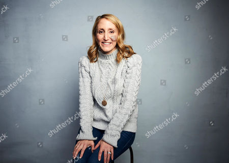 "Jill Furman poses for a portrait to promote the film ""We Are Freestyle Love Supreme,"" at the Music Lodge during the Sundance Film Festival, in Park City, Utah"