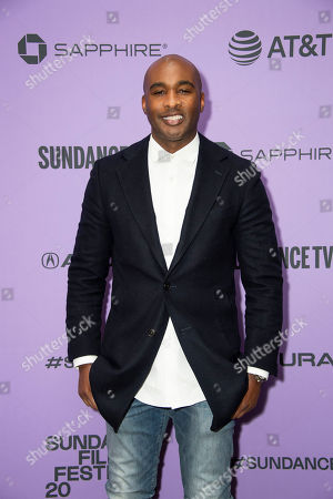 """Datari Turner attends the premiere of """"Nine Days"""" at the Eccles Theatre during the 2020 Sundance Film Festival, in Park City, Utah"""